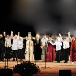 28.  Участники конкурса конец концерта.
